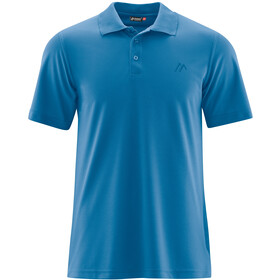 Maier Sports Ulrich Polo Herrer, imperial blue